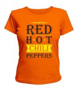 Женская футболка Red Hot Chili Peppers Вариант №3
