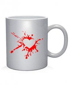 Чашка арт Разбитое сердце