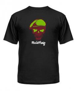 Мужская Футболка Suicide Squad RickFlag