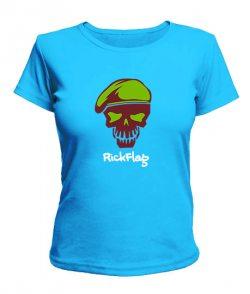Женская футболка Suicide Squad RickFlag