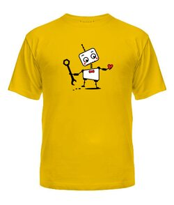 Мужская футболка Роботы