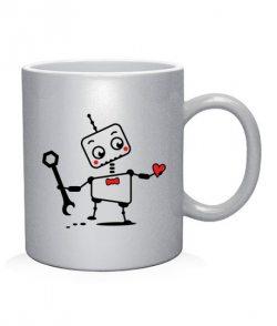 Чашка арт Роботы (для него)