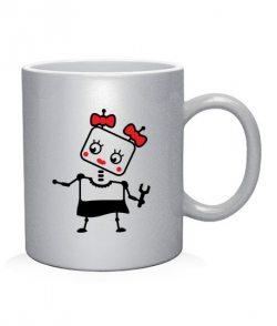 Чашка арт Роботы (для нее)