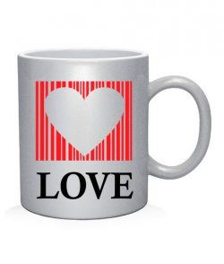 Чашка арт Сердце - любовь (для него)