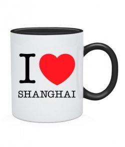 Чашка I love Shanghai