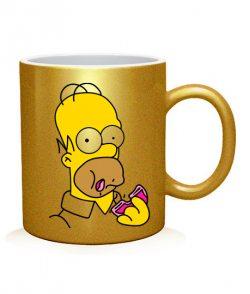 Чашка арт Симпсоны (для него)