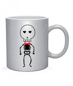 Чашка арт Скелеты (для него)