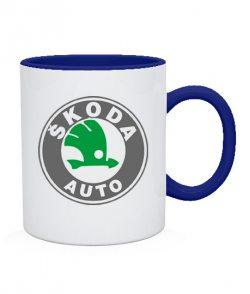 Чашка Skoda auto