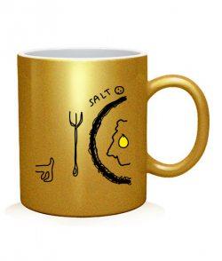 Чашка арт Соль и перец (для него)