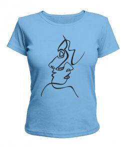 Женская футболка Страсть