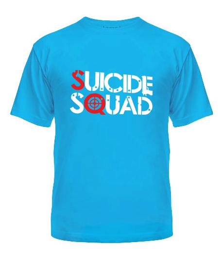 Мужская Футболка Suicide Squad №2