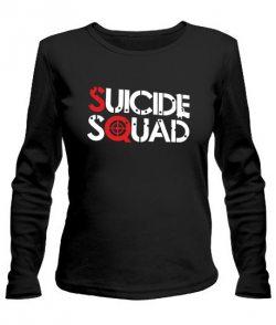 Женский лонгслив Suicide Squad №2
