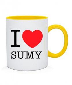 Чашка I love Sumy