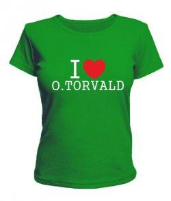 Женская футболка O.Torvald №11