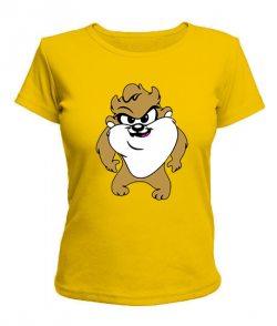 Женская футболка Тасманский дьявол
