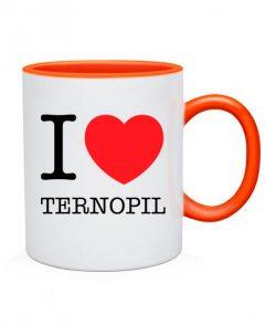 Чашка I love Ternopil