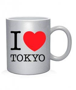Чашка арт I love Tokyo