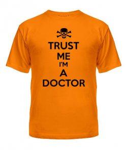 Мужская Футболка Trust me I'm a doctor