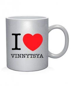 Чашка арт I love Vinnytsy