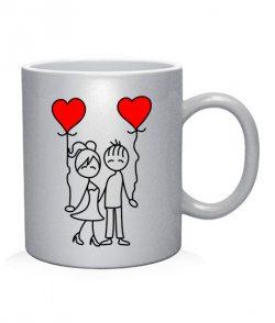 Чашка арт Влюбленная пара №4