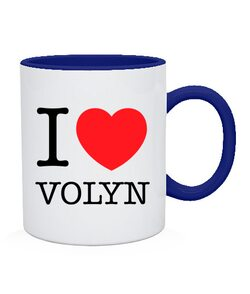 Чашка I love Volyn