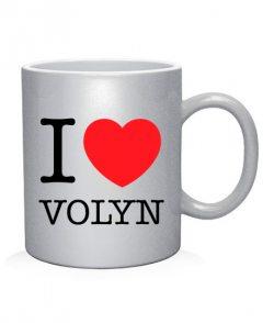 Чашка арт I love Volyn