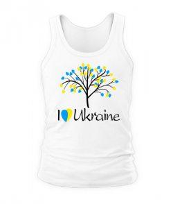 Мужская Майка Я люблю Ukraine