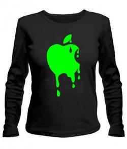 Женский лонгслив Apple №3