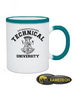 Чашка хамелеон Запорізький технічний універ