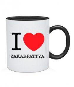 Чашка I love Zakarpattya