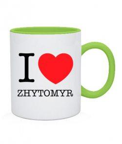 Чашка I love Zhytomyr