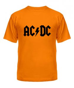 Мужская Футболка AC-DC