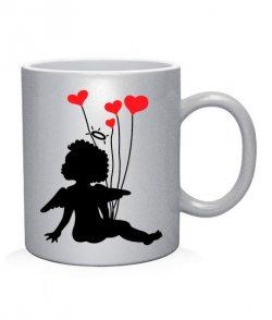 Чашка арт Ангелочки (для него)