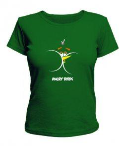 Женская футболка Angry Birds Вариант 6