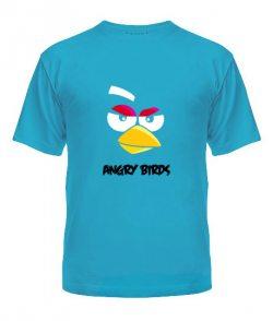 Мужская Футболка Angry Birds Вариант 5