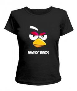 Женская футболка Angry Birds Вариант 5