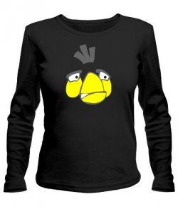Женский лонгслив Angry Birds Вариант 9