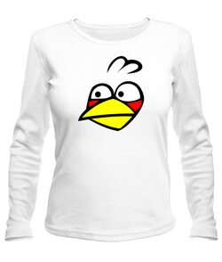 Женский лонгслив  Angry Birds Вариант 8