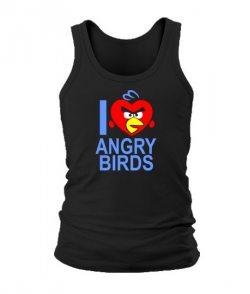 Мужская Майка Angry Birds Вариант 10