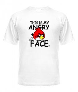 Мужская Футболка Angry Birds Вариант 11