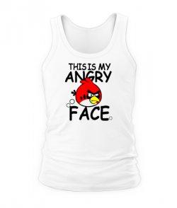 Мужская Майка Angry Birds Вариант 11
