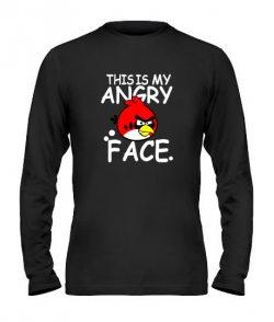 Мужской Лонгслив Angry Birds Вариант 11