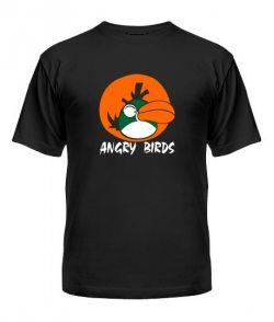 Мужская Футболка Angry Birds Вариант 12