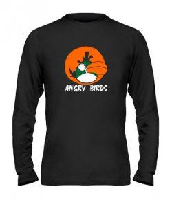 Мужской Лонгслив Angry Birds Вариант 12