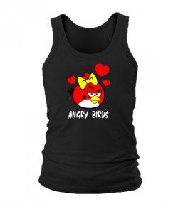 Мужская Майка Angry Birds Вариант 13
