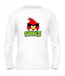 Мужской Лонгслив Angry Birds Вариант 14