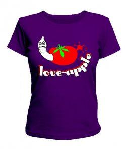 Женская футболка Apple2