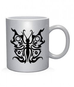 Чашка арт Тату Бабочка