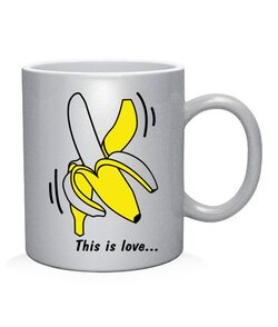 Чашка арт This is love (для него)