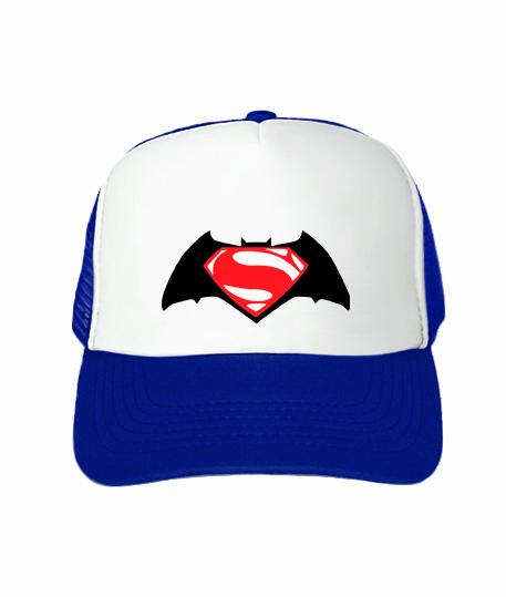 Кепка тракер Бетмен-супермен №2